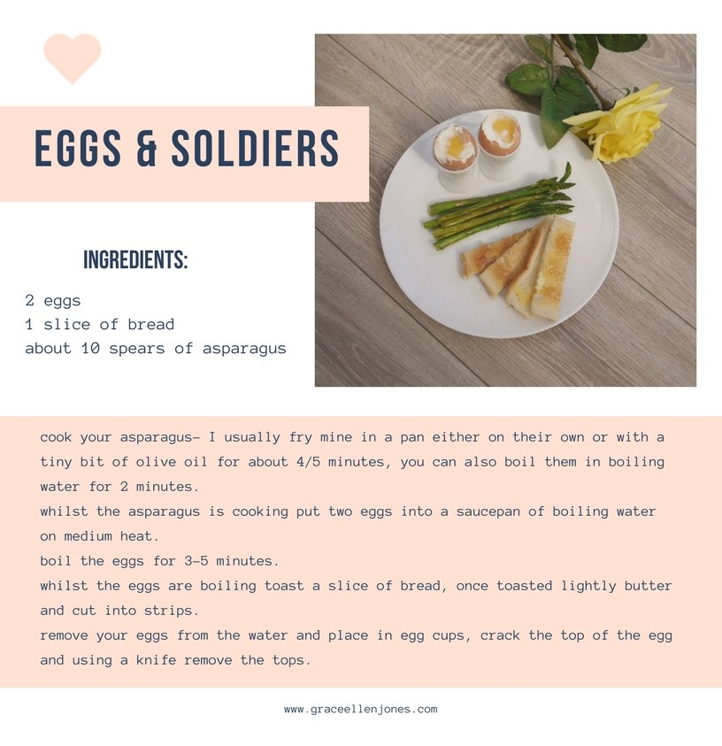 Eggs & Soldiers with Asparagus